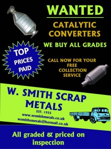 W Smith Scrap Metals » Scrap Metal & Catalytic convertors